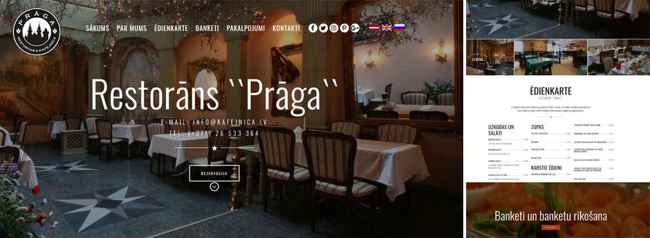 """Restorāns & Kafejnīca """"Prāga"""""""